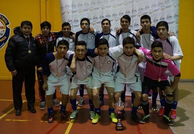 Liga escolar de futsal media 2016 finaliz con gran - Gimnasio espana industrial ...