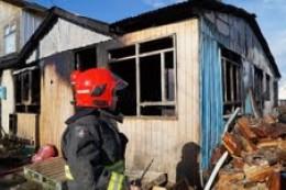 Incendio destruyo en su totalidad casa en Natales
