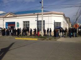 Largas filas en Dirección de Tránsito de la Municipalidad