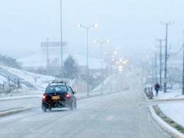 Chubascos de nieve y bajas temperaturas se mantendrán en la Región de Magallanes