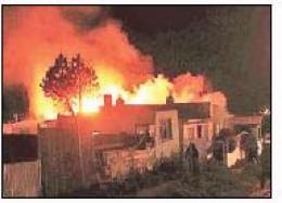 Ardió casa donde inhalaban solventes
