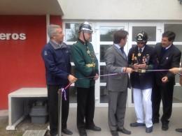 Inauguran cuartel de la Sexta Compañía de Bomberos