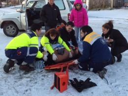 Mujer lesionada tras ser atropellada en Avenida España